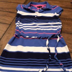 Tommy Hilfiger striped dress size M (8-10)